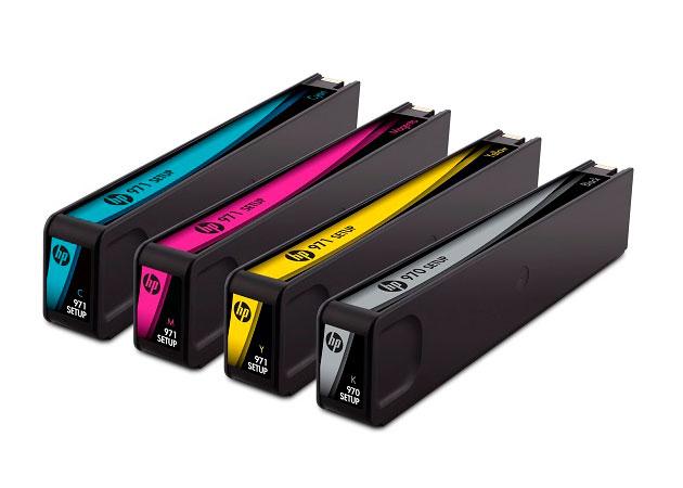 Tintas de pigmento HP