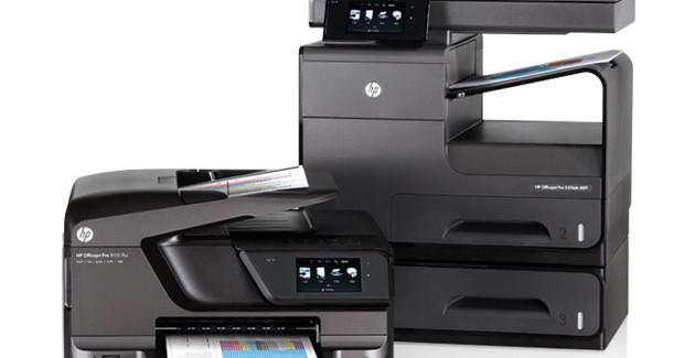 HP Officejet Pro en los medios