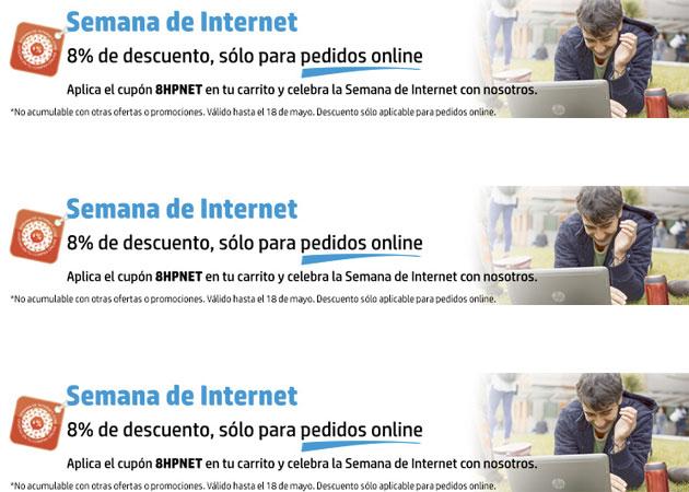 descuentos tienda online de HP Semana de Internet