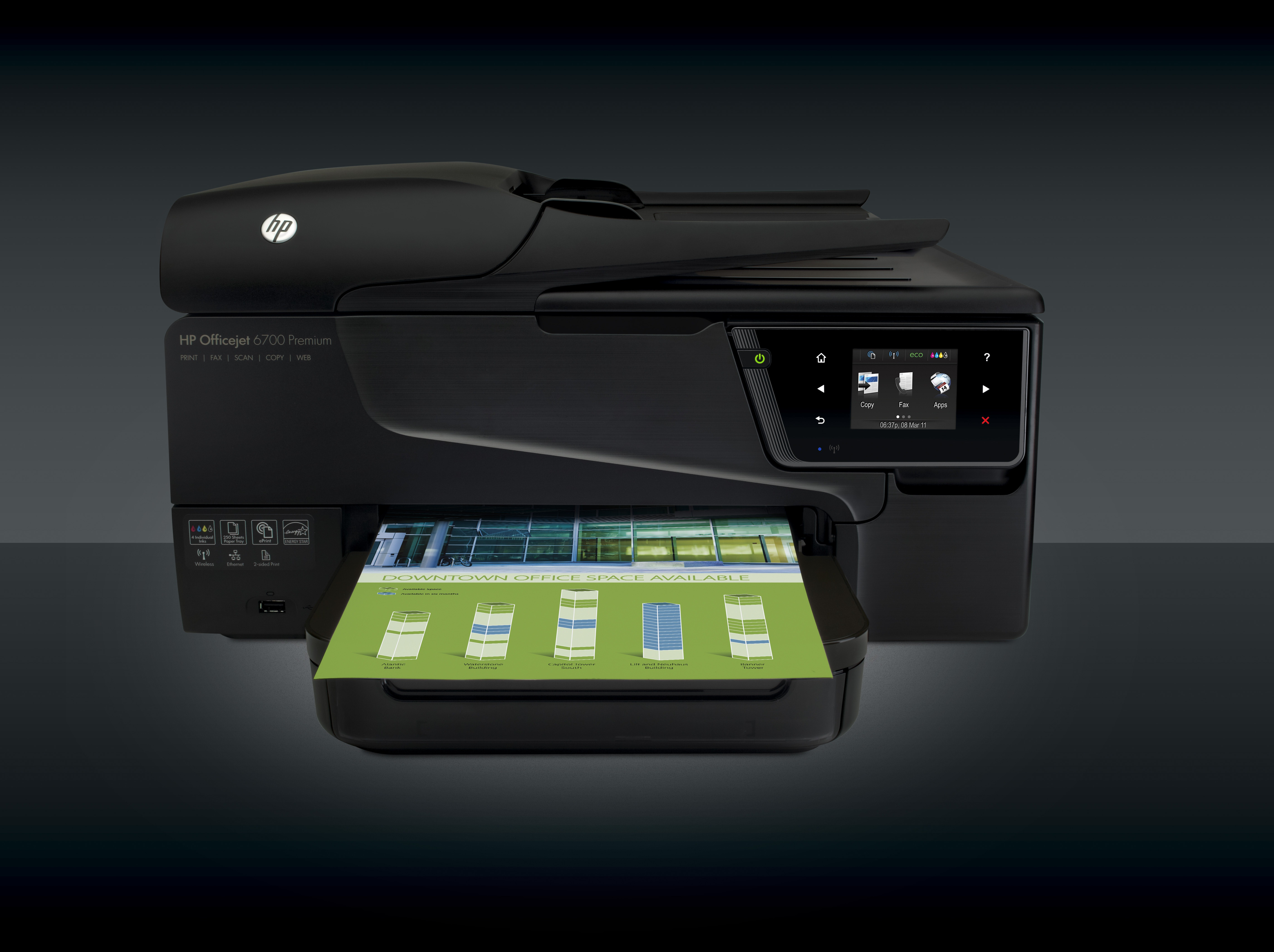HP Officejet 6700 Premium, , drivers para Windows, Mac, Linux