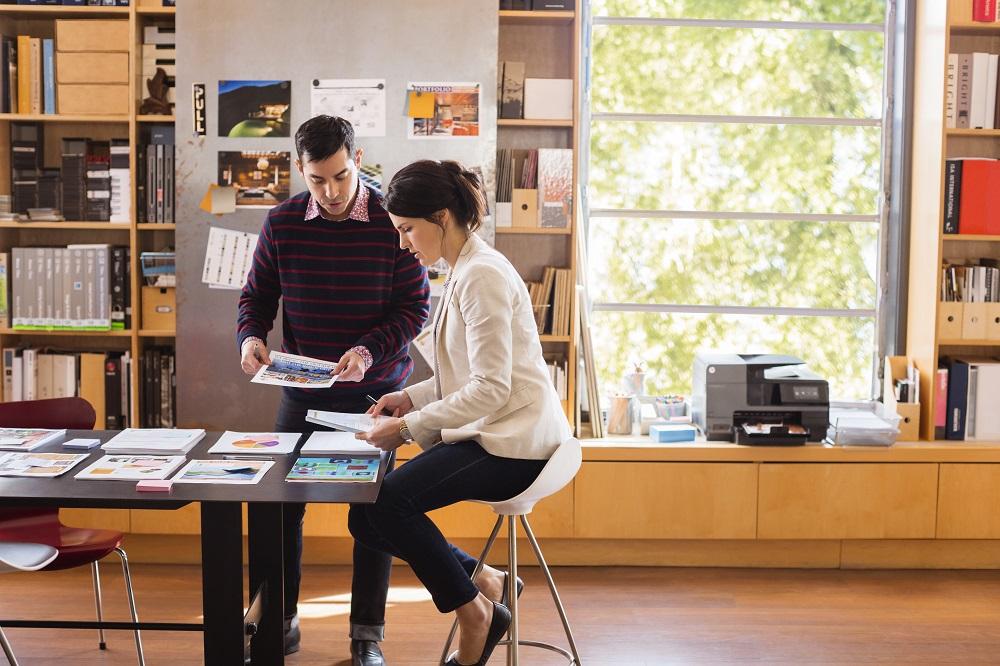 HP Instant Ink impresión teletrabajo