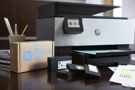 Tinta compatible frente a HP Instant Ink