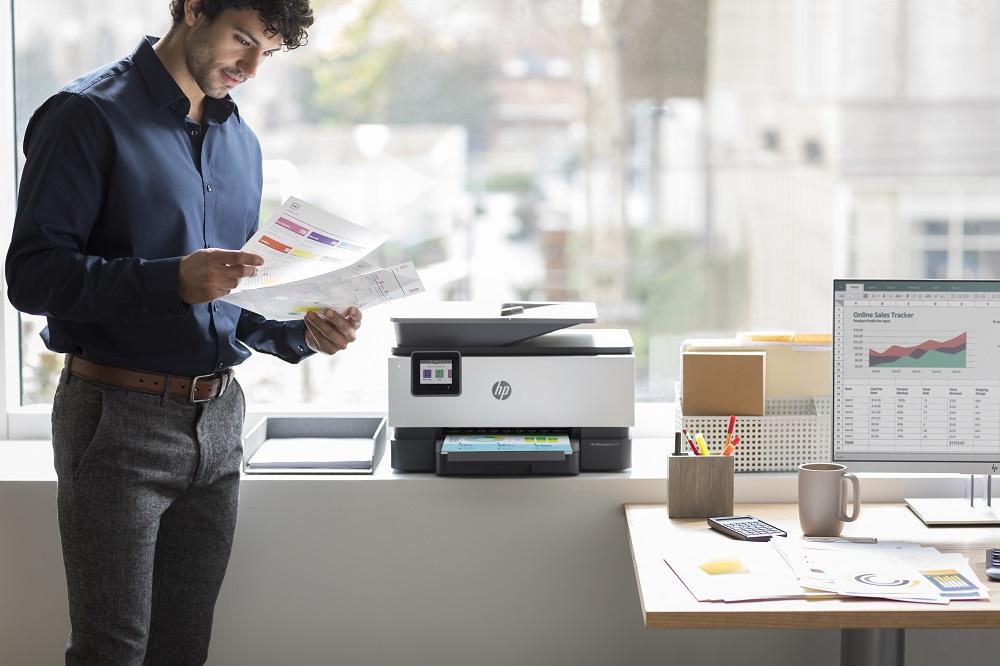 Teletrabajo, tinta e impresión