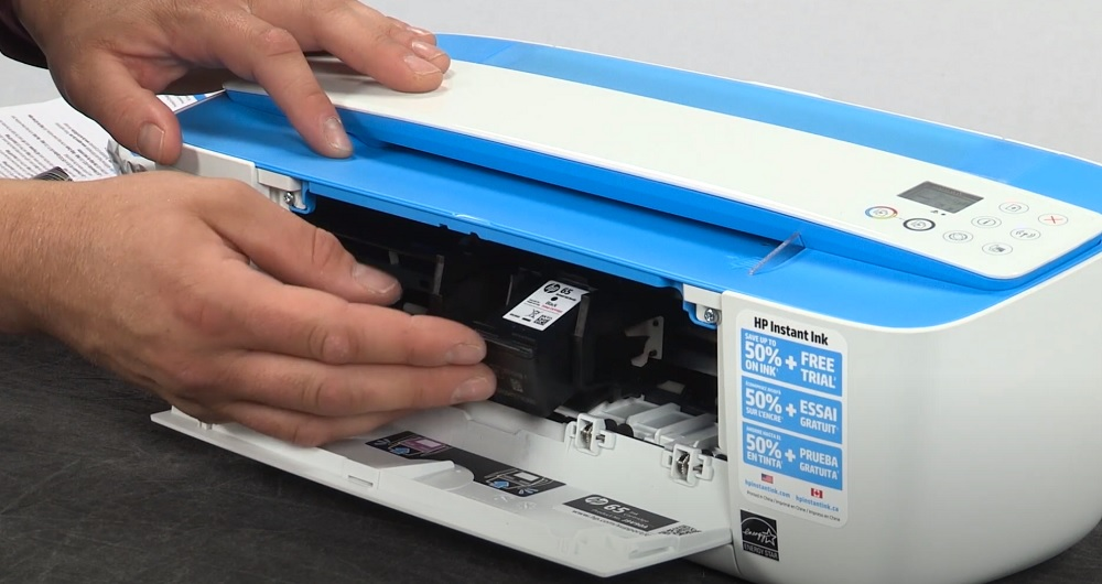 Cómo Cambiar Los Cartuchos De Tinta En La Serie Hp Deskjet 3700