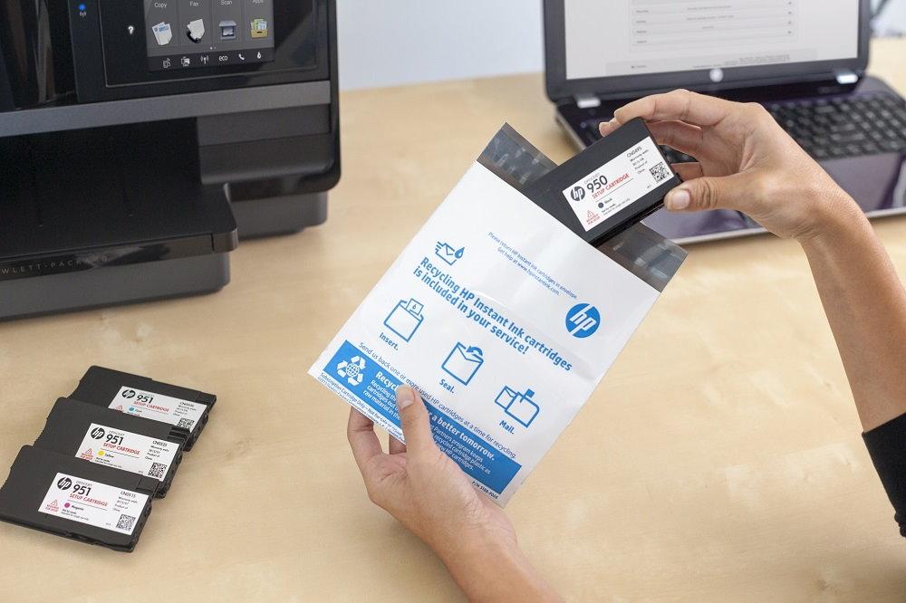 Cuida del medio ambiente con el servicio HP Instant Ink