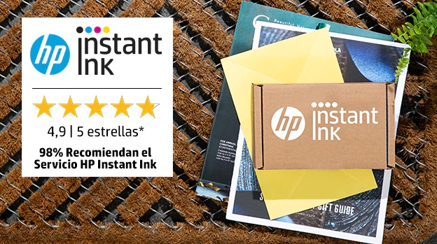 Imprime gratis con HP Instant Ink