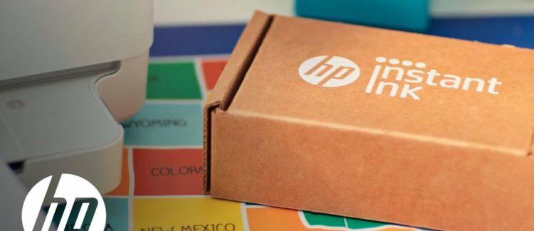 HP Instant Ink trabajos