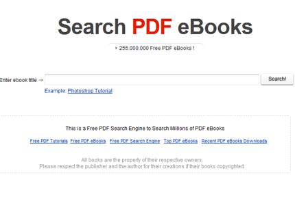 Search PDF eBooks