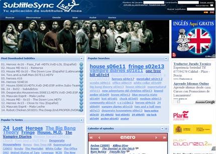 SubtitleSync web