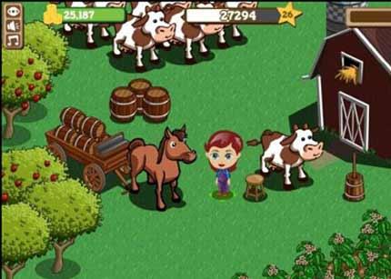 Farmville de Zynga