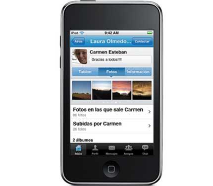 Tuenti en el iPhone