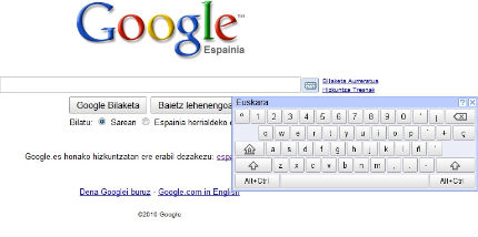 google teclado virtual