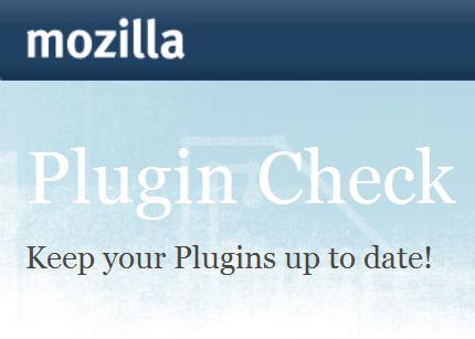 MozillaPluginCheck