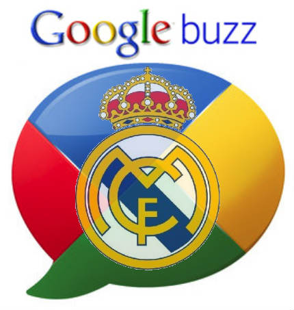 real madrid google buzz
