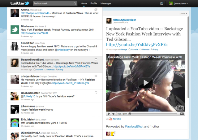 twitter nuevo1 Fotos, vídeos y nuevo diseño en Twitter