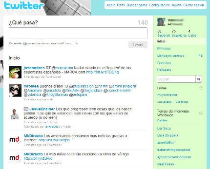 twitter nuevo2 Fotos, vídeos y nuevo diseño en Twitter