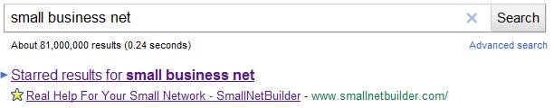 Los marcadores de Chrome integrados en el buscador de Google