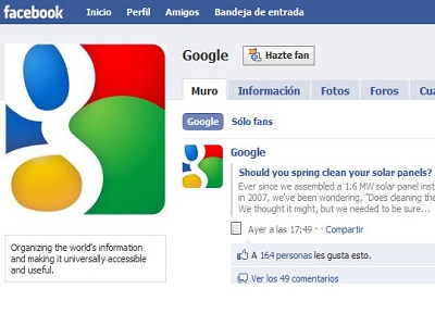 Facebook no dejará utilizar Google AdSense