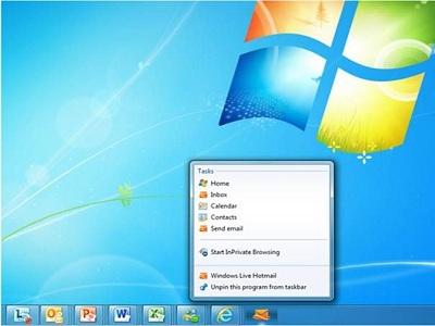 Hotmail mejora su integración con Internet Explorer 9