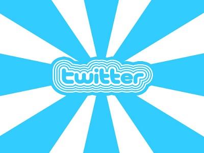 El uso de las aplicaciones de Twitter en una infografía