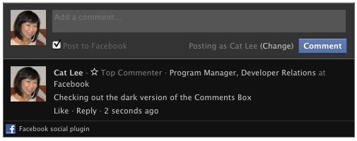 Nuevas opciones en el sistema de comentarios de Facebook
