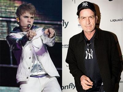 Haz desaparecer a Justin Bieber y Charlie Sheen en un clic