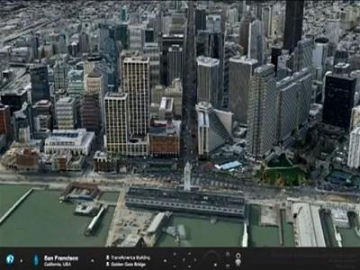Ovi Map 3D, el Google Earth de Nokia