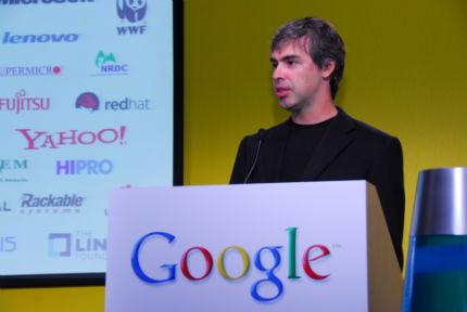 Larry Page realiza los primeros cambios en Google