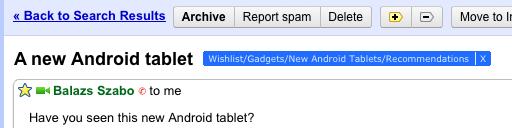 Gmail aumenta la longitud máxima de sus etiquetas a 225 caracteres