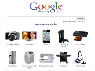 España recibe a Google Shopping, el comparador de precios de Google