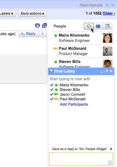 people 02 chat  Gmail muestra información de los contactos en la bandeja de entrada