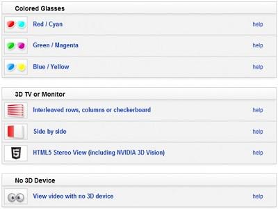Youtube, Nvidia y Mozilla te traen el vídeo en 3D