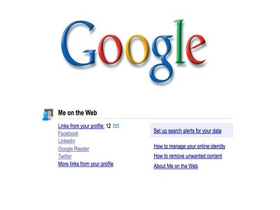 "Google lanza la herramienta ""Me on the web"""