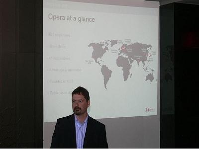 Jon S. von Tetzchner, cofundador de Opera Software, deja la compañía