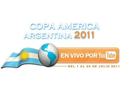 Sigue la Copa América de fútbol desde YouTube