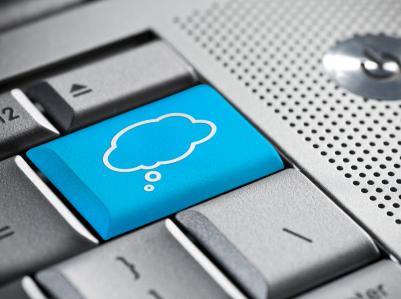 Cloud computing boton