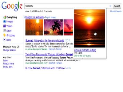 Google mejora la búsqueda de imágenes
