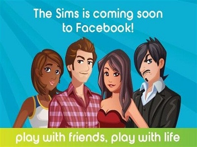 Los Sims llegarán a Facebook este verano