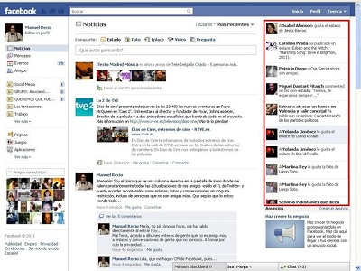 "Facebook está probando ""Happening Now"" en España"