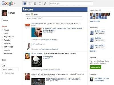 Accede a Facebook desde Google+