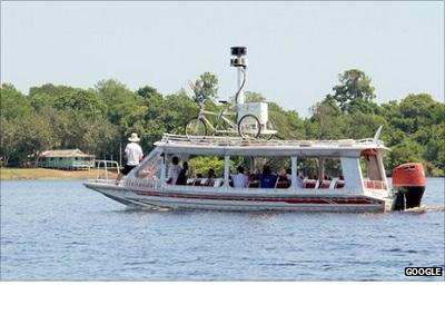 Google Street View llegará al Amazonas