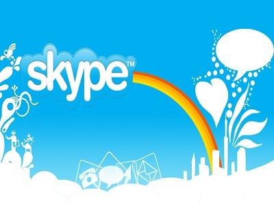 Skype cumple 8 años