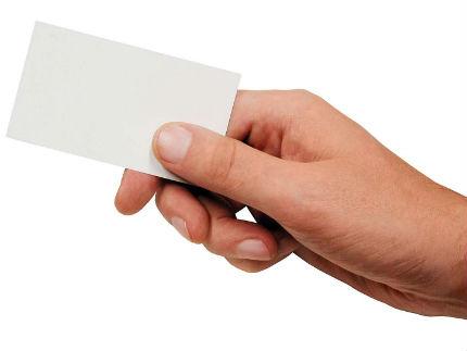 tarjeta visita ¿Necesita tu negocio on line una tarjeta de visita física?