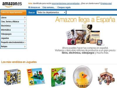 Amazon comienza a operar en España