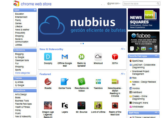 Chrome-Web-Store-España