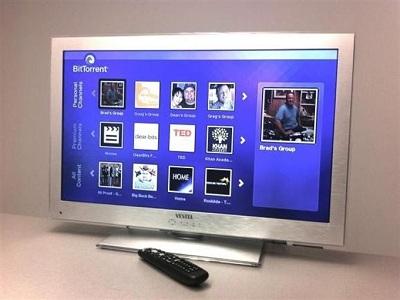 Anuncian la primera televisión con BitTorrent integrado