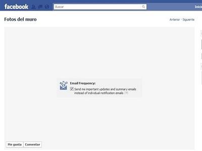 Facebook trabaja para no saturar con notificaciones nuestro email