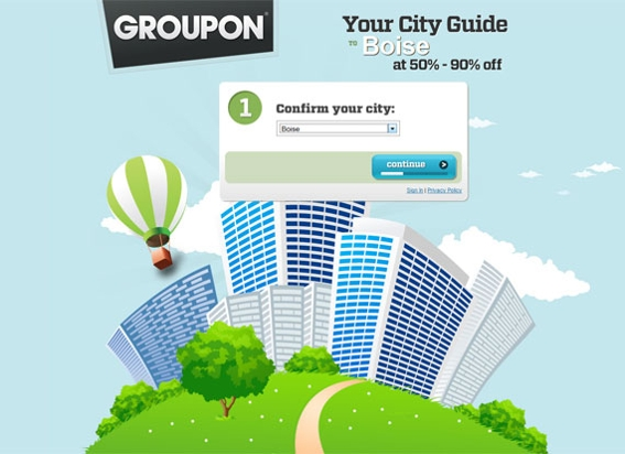 groupon-home-page