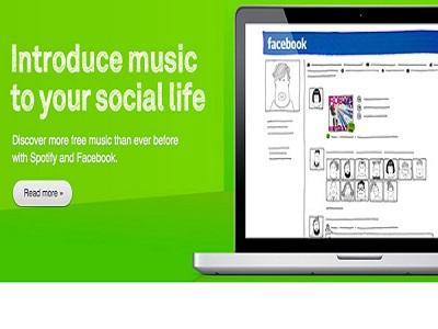 Los nuevos usuarios de Spotify deberán ser de Facebook