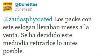 tweet donettes Cómo Donettes resolvió con éxito una crisis 2.0